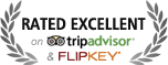 rated excellent trip advisor and flip key