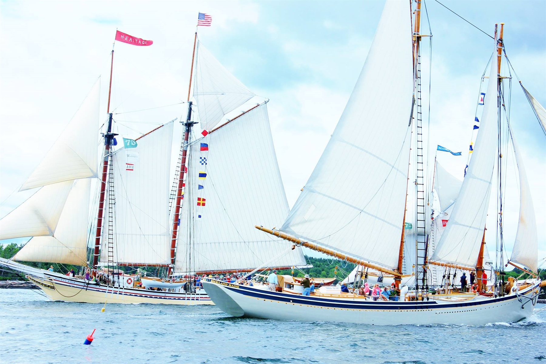 celebrate the maine bicentennial boothbay harbor